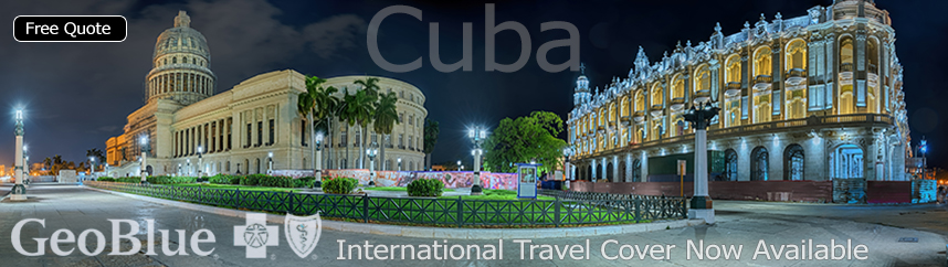 GeoBlue Voyager Travel Medical Insurance for Cuba